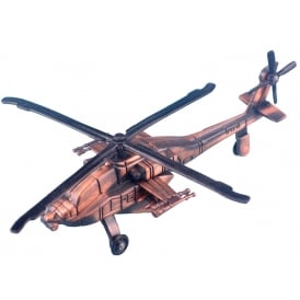Apache Helicopter Antique Style Pencil Sharpener