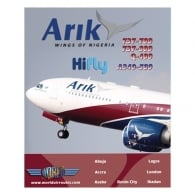 Arik Air A340-500 DVD