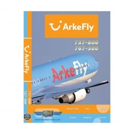Just Planes Arkefly B737 DVD