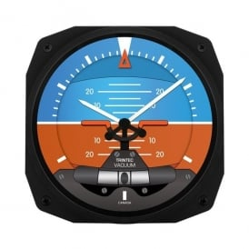 "Artificial Horizon 10"" Wall Clock - Dispatch Series"