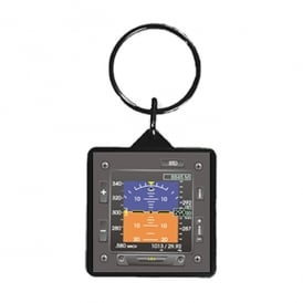 Artificial Horizon Keyring - Square Series