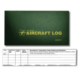ASA Aircraft Log Book
