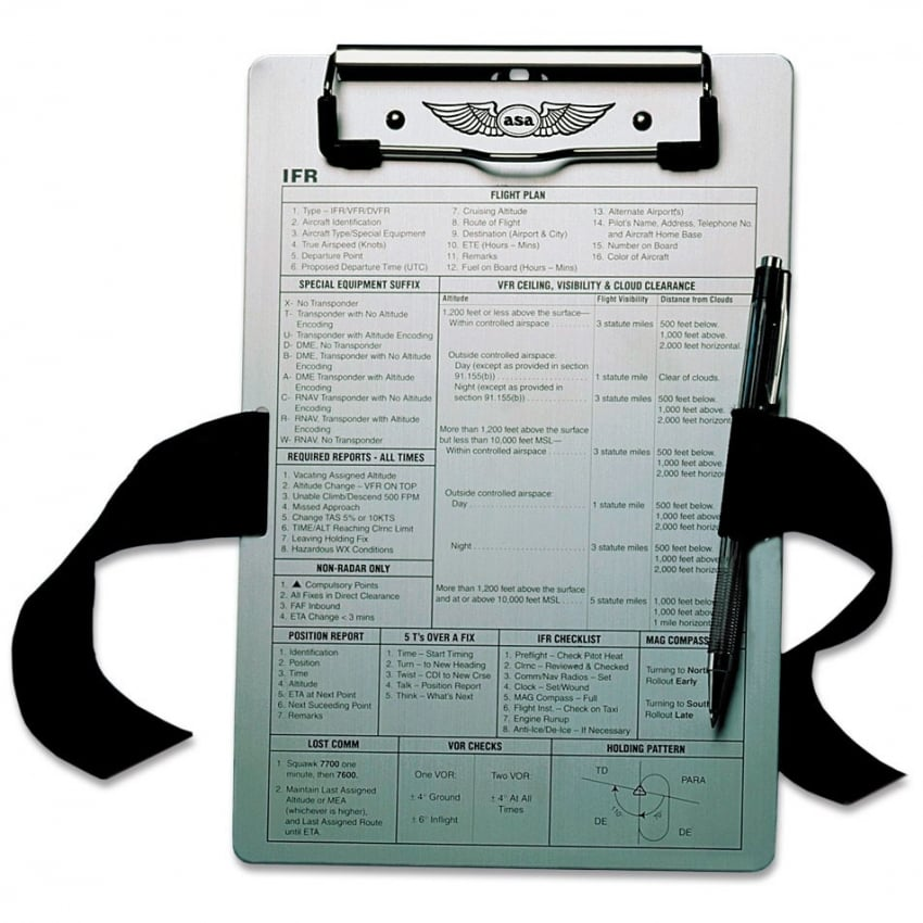 IFR Metal Clipboard