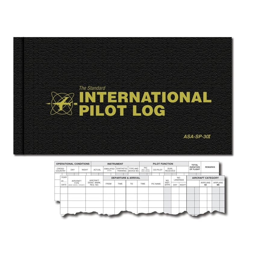 International Pilot Flying Log Book