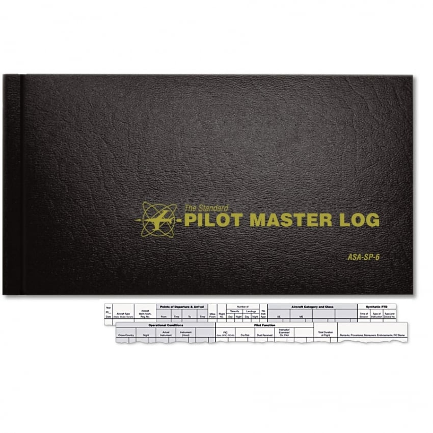 Pilot Master Professional Pilot Log Book