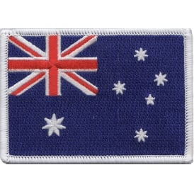 Australian Flag Iron on Patch