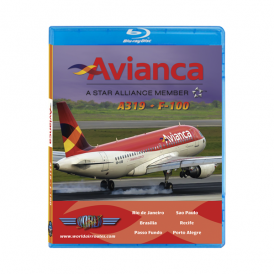 Just Planes Avianca A319 Blu-Ray