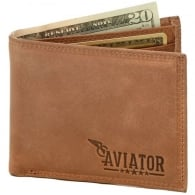 Aviator Leather Wallet