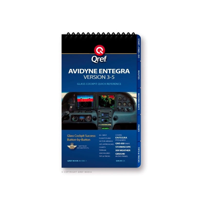 Avidyne Entegra Version 3-5 GPS Checklist
