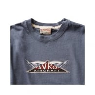 Avro Aircraft T-Shirt - Washed Blue