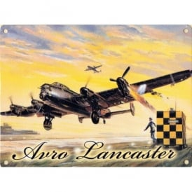 Original Metal Sign Company Avro Lancaster Metal Fridge Magnet