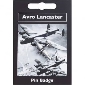 Avro Lancaster Pewter Pin Badge