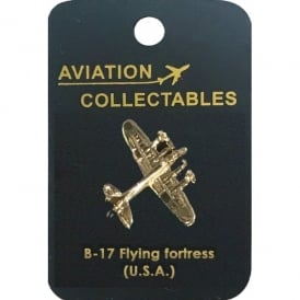 B-17 Flying Fortress Pin Badge