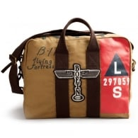 B-17 Kit Bag - Tan with Dark Brown