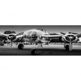B-25 Mitchell Glass Picture