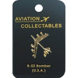 B-52 Bomber Pin Badge