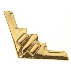 B2 Stealth Boxed Pin - Gold