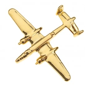 B25 Mitchell Boxed Pin - Gold
