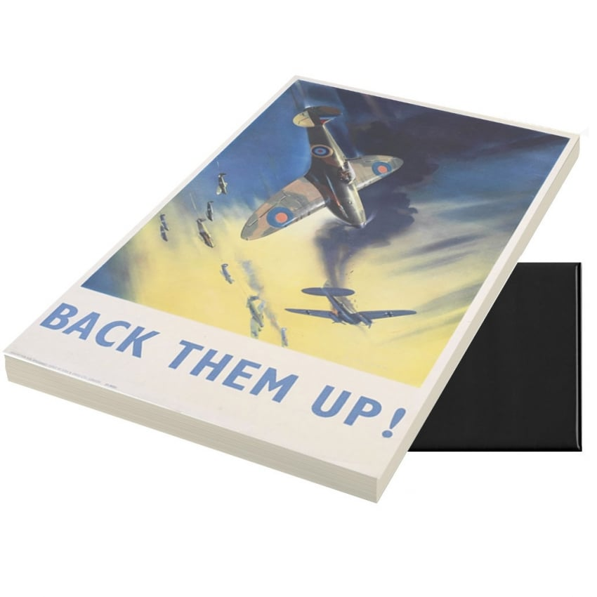 Back Them Up A6 Magnetic Note pad