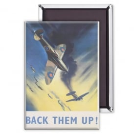 Back Them Up Fridge Magnet