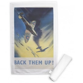 Back Them Up Tea Towel