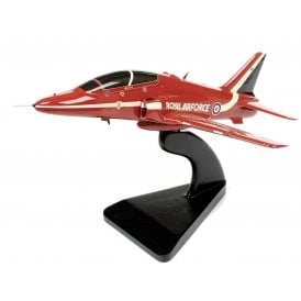 BAE Hawk Red Arrows Wooden Model