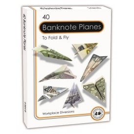 Banknote Planes - Set of 40