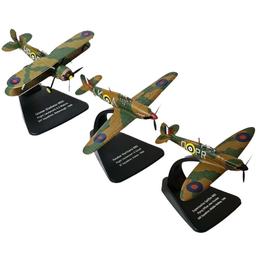Battle Of Britain 70th Anniversary Diecast Model Set - Scale 1:72