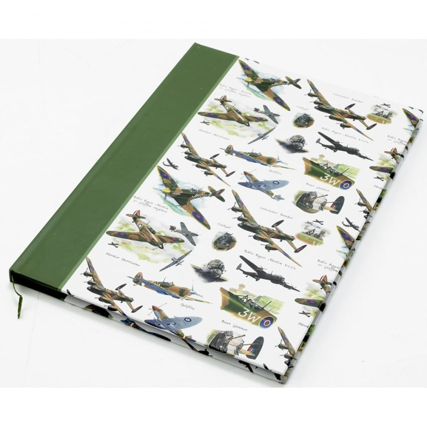 Battle Of Britain A4 Notebook