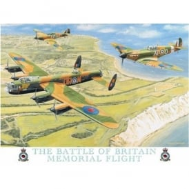 Original Metal Sign Company Battle of Britain Fridge Magnet