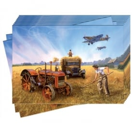 Battle Of Britain Harvest Greeting Cards - Pack of 10