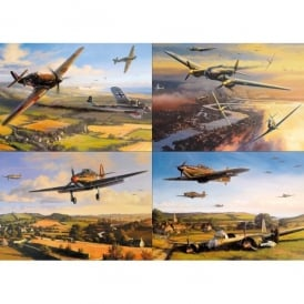 Gibsons Battle Of Britain Jigsaw Puzzle (1000 pieces)