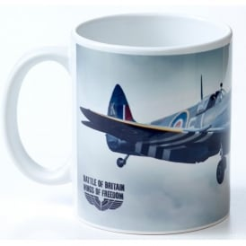Battle Of Britain Spitfire Wings of Freedom Mug