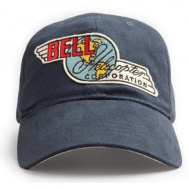 Red Canoe Bell Helicopter Cap - Navy