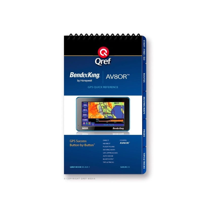 Bendix King AV80R GPS Checklist