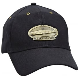 BF-109 Airplane Cap with Brass Emblem