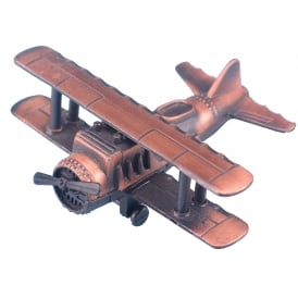Bi-Plane Antique Style Pencil Sharpener