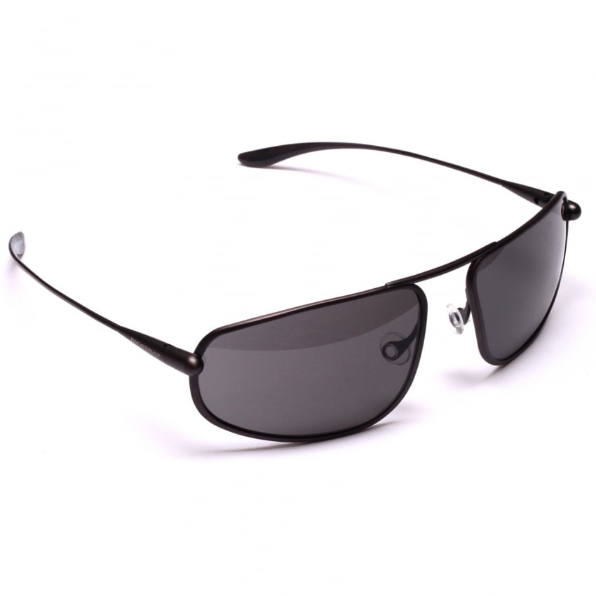 Strato Sunglasses - Graphite - Grey Lens
