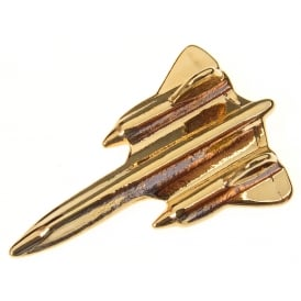 Blackbird SR-71 Boxed Pin - Gold