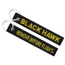 Blackhawk Remove Before Flight Embroidered Keyring