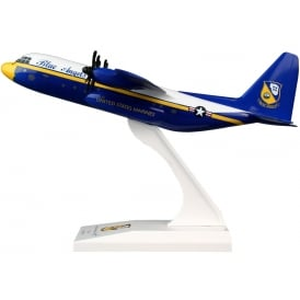Blue Angels C-130 Plastic Model - Scale 1:150