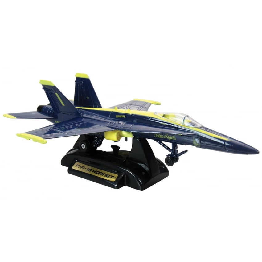 Blue Angels F-18 Die Cast Model Aircraft - Scale 1:48 - Last Stock