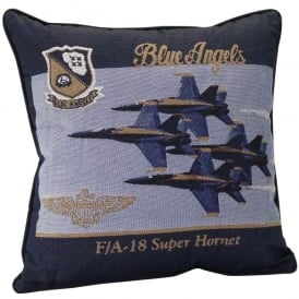 Blue Angels Filled Cushion