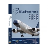 Blue Panorama 757-200 DVD