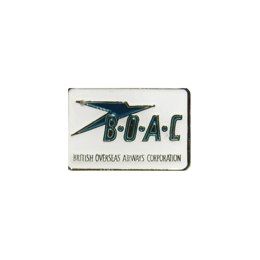 BOAC Logo Pin Badge
