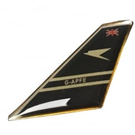 BOAC Tail Pin Badge
