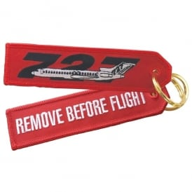 ACI Collectables Boeing 727 RBF Embroidered Keyring