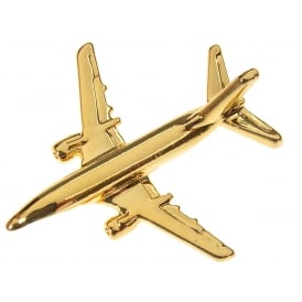 Boeing 737-500 Boxed Pin - Gold