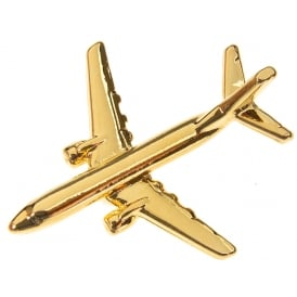 Boeing 737-800 Boxed Pin - Gold