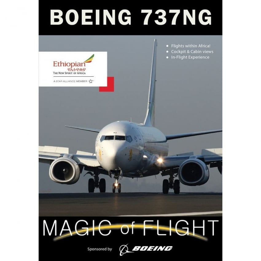 Boeing 737-800 NG Magic Of Flight DVD